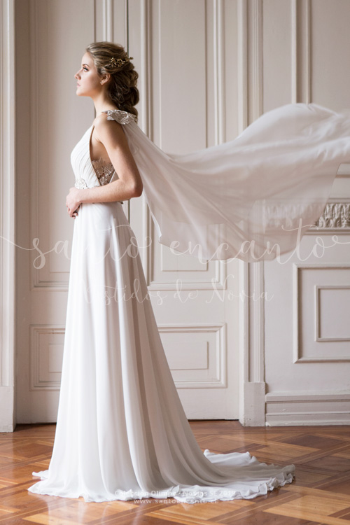 Vestido de novia griego